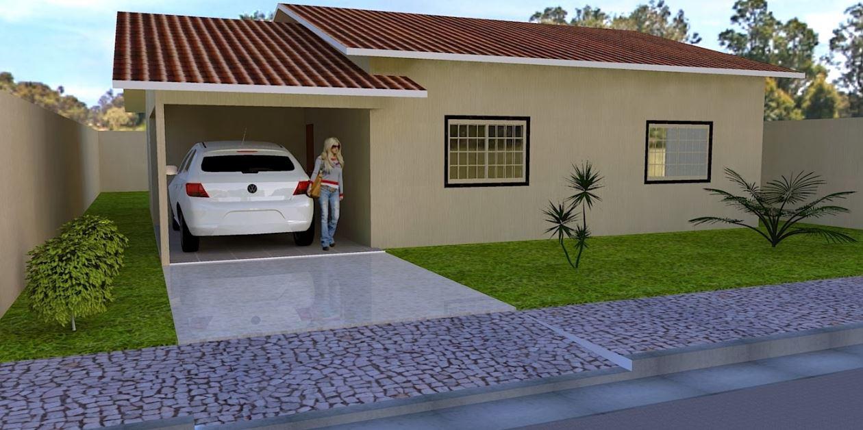 Fachadas de casas peque as modernas - Fachadas de casas tradicionales de un piso ...