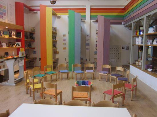 Salon de jardin de niños