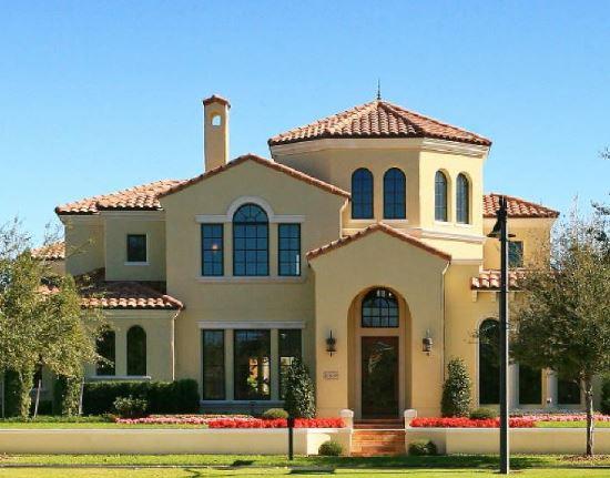 Fachadas de casas con tejas coloniales for Modelos de fachadas de casas de dos pisos