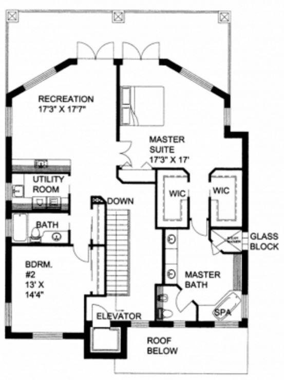 tres pisos con revestimiento