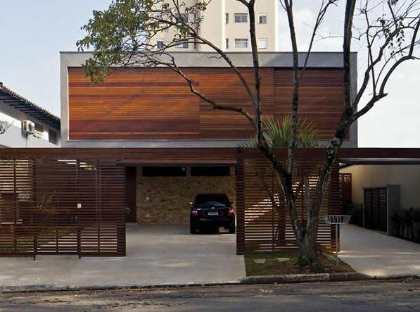 Diseños de rejas horizontales para casas modernas