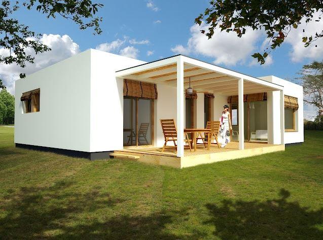 Fachadas de casas bonitas y economicas for Casas modernas un piso