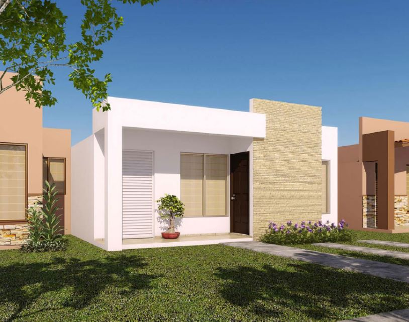 fachadas de casas bonitas y pequeas