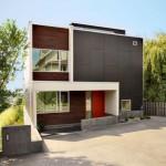 Fachadas de casas cuadradas