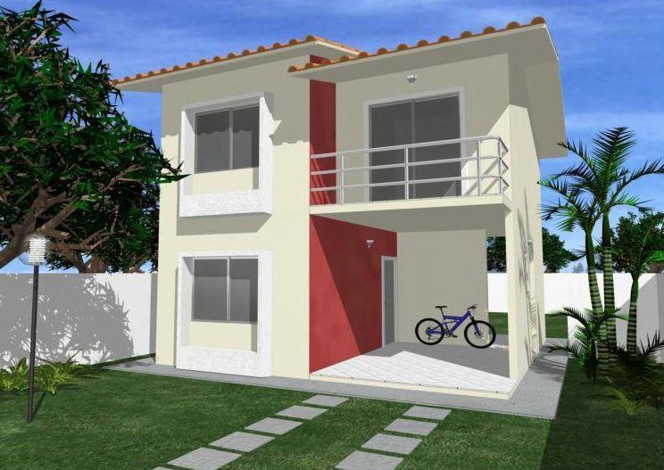 fachada de casas modernas de dos pisos fachada de casas