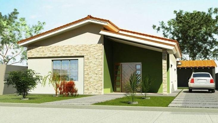 Fachadas de casas sencillas Fachadas de casas bonitas de una planta