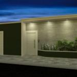 Fachadas con muros