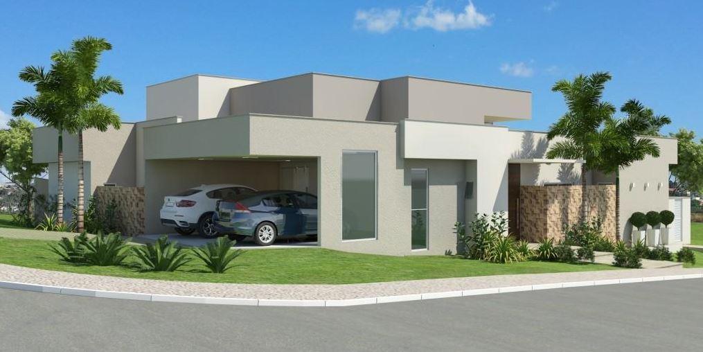 Modelos de casas esquineras minimalistas