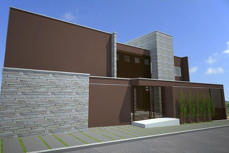 Fachadas de casas con muros de piedra - Piedra fachada exterior ...