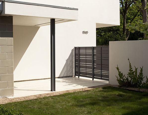 Rejas horizontales modernas