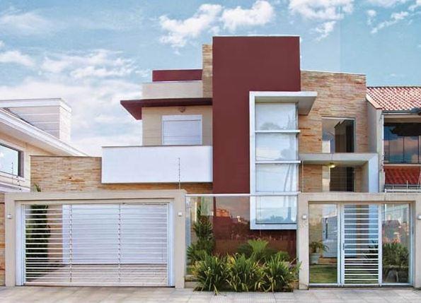 Rejas horizontales para casas de dos pisos