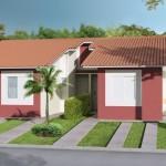 Fachadas simples para casas pequeñas
