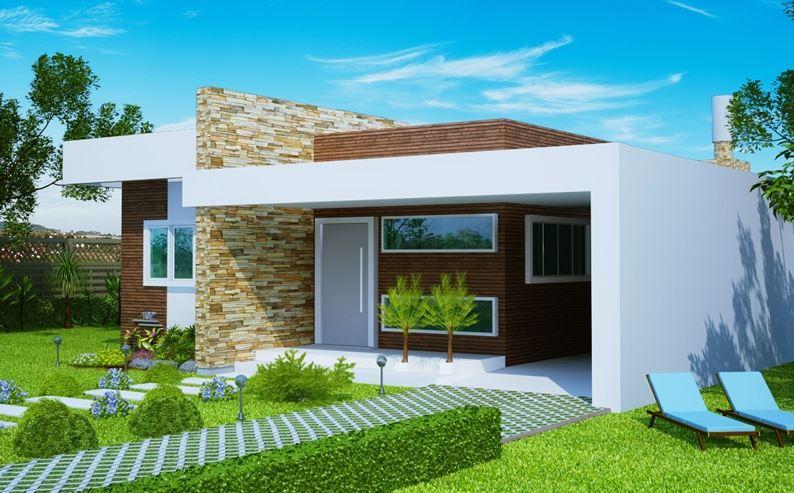 Fachadas de casas bonitas casas y fachadas holidays oo - Dibujos de casas modernas ...