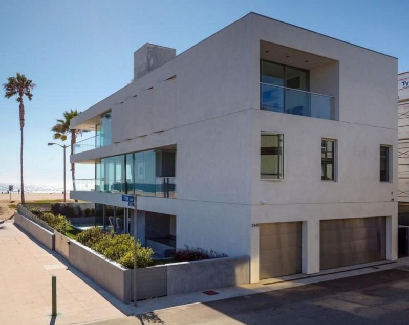 Fachadas de casas de dos pisos en esquina for Modelos de casas minimalistas de dos plantas