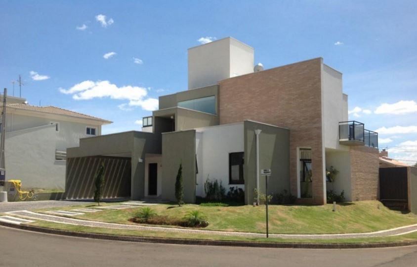 fachadas de casas esquineras modernas
