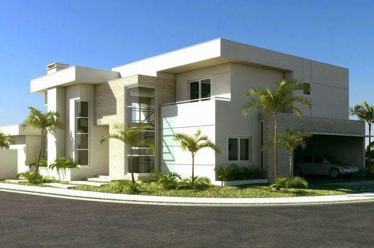 fachadas esquineras modernas