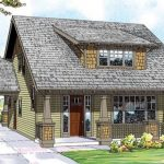 Casa de 2 pisos en madera y con estilo rústico