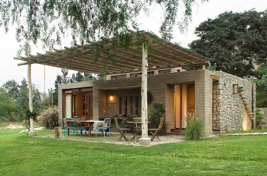 Casa de campo rústica y confortable