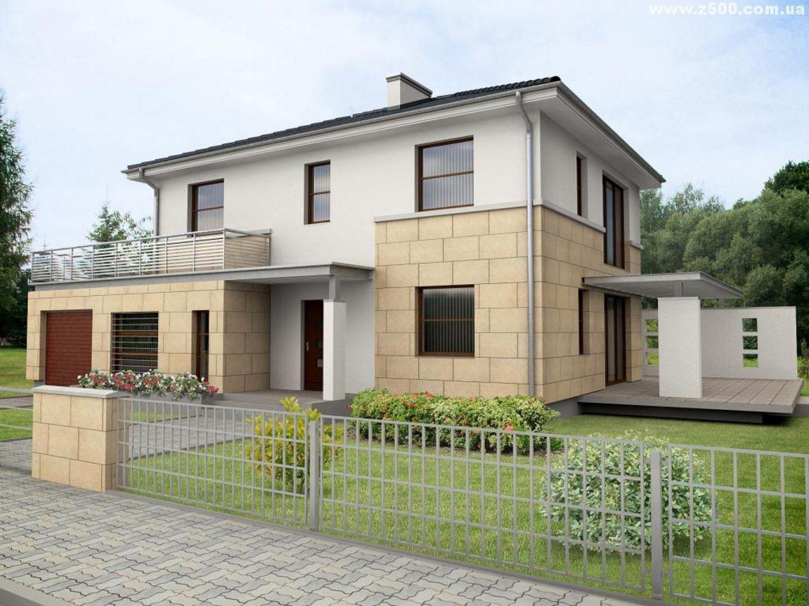 Casas modernas de 2 pisos for Fachadas pisos modernas