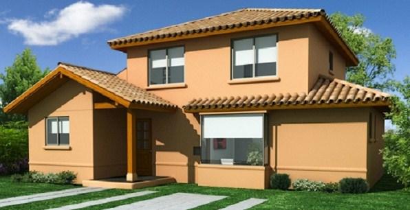 Casas de dos pisos sencillas y bonitas for Fachadas de casas bonitas y modernas de dos pisos