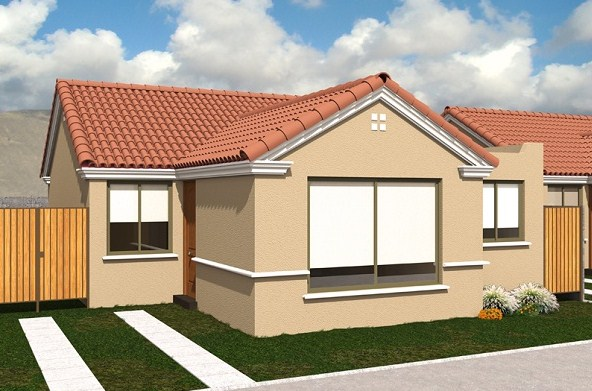 Casas de dos pisos sencillas y bonitas - Fachadas de casas de un piso ...