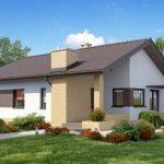 Fachadas de casas con porche