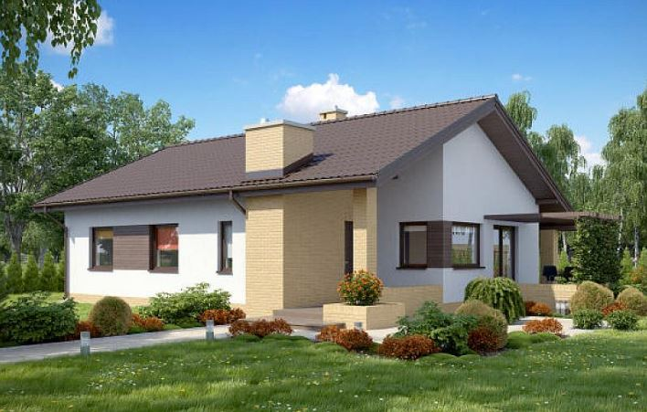 Fachadas de casas de 2 pisos for Porches de casas pequenas