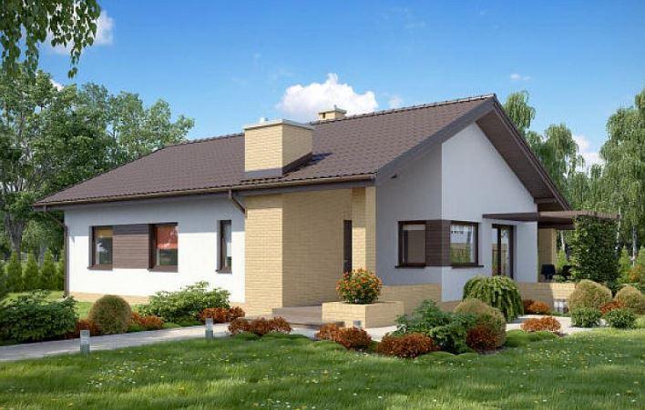 Fachadas de casas de 1 piso for Techos de casas modernas