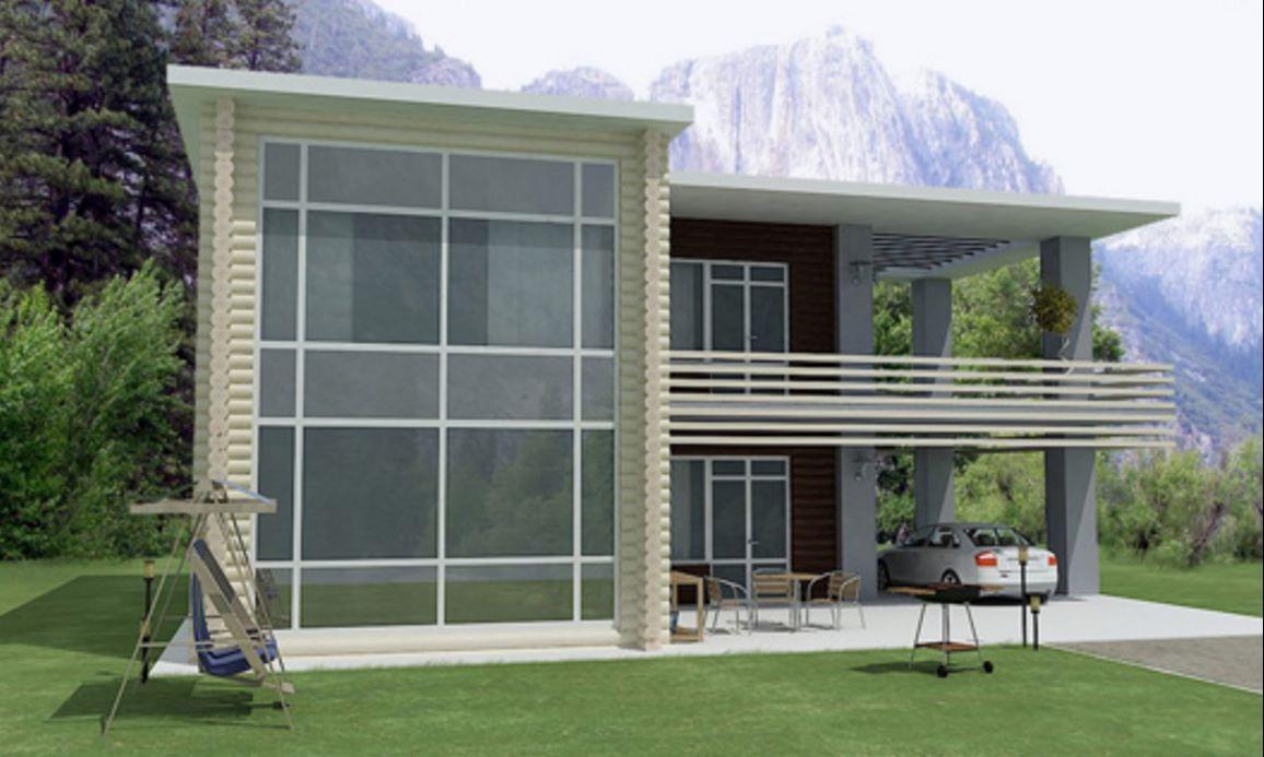 casa-con-troncos-ecologica