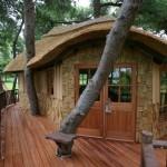 Fachadas rusticas con madera