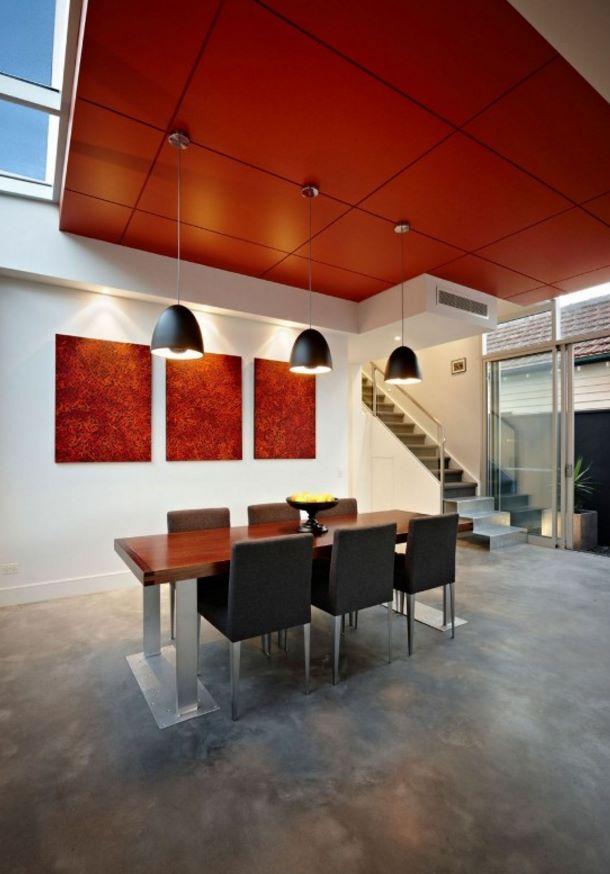 interior de casa postmodernista