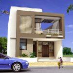 Estilos de fachadas de casas de dos pisos