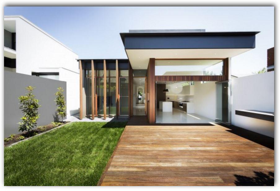 Fachadas de casas con jardin frontal for Casas de pvc para jardin