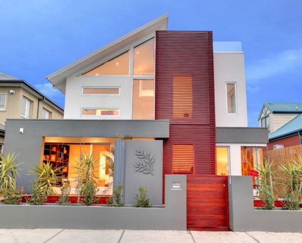 fachadas-para-casas-originales-con-techo-inclinado