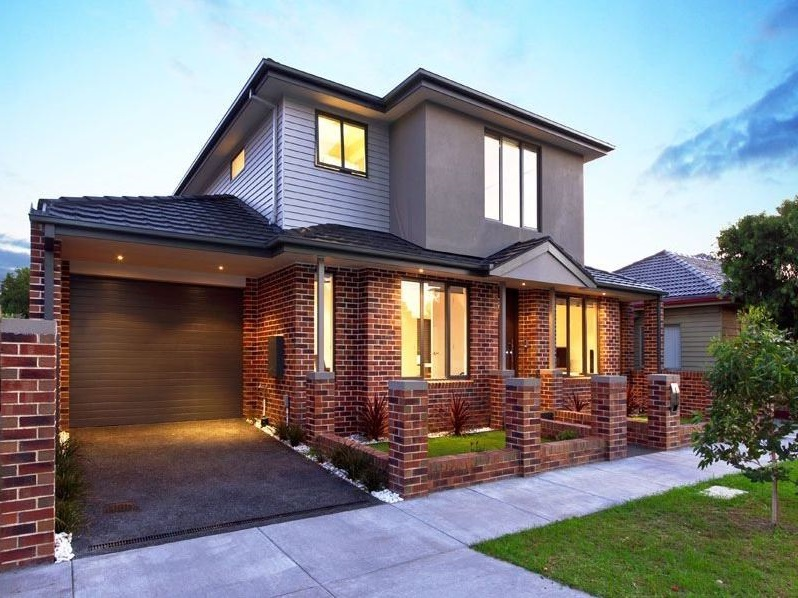 Fachadas de casas modernas part 8 for Modelos de casas medianas