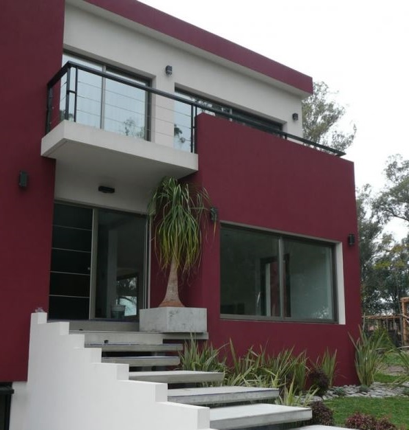 Materiales para frentes de casas for Frentes de casas pintadas