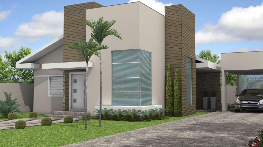 Fachadas de casas de 2 pisos part 2 for Casas modernas de dos plantas pequenas