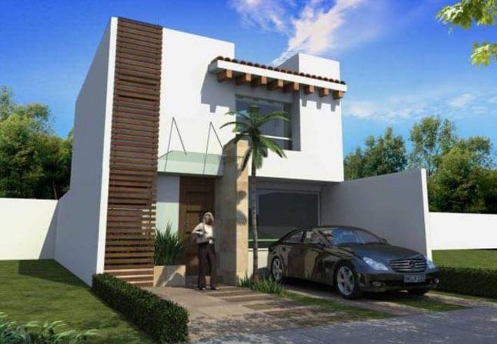 Fachadas de casas de 2 pisos part 9 for Disenos de frentes de casas
