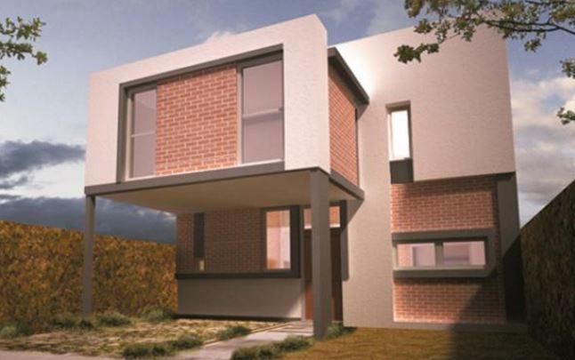 Fachadas de ladrillos for Construir casas modernas