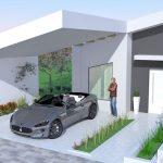Diseños de casas con techos inclinados