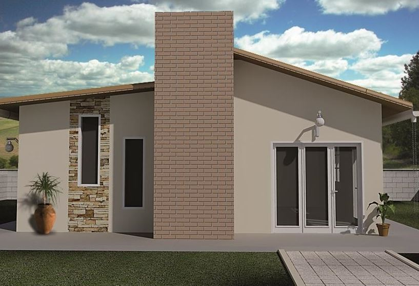Casas modernas con techos inclinados for Tipos de techumbres de casas