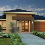 Fachadas de casas a 4 aguas