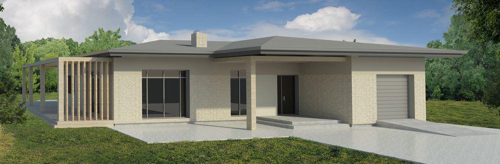 Fachadas de casas minimalistas for Casas modernas 4 aguas