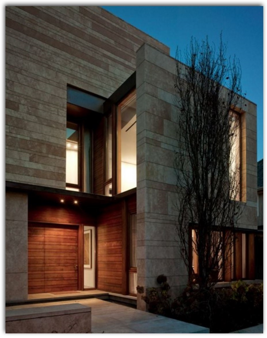 Ver fachadas de casas fachadas de casas estilos de - Piedra fachada exterior ...