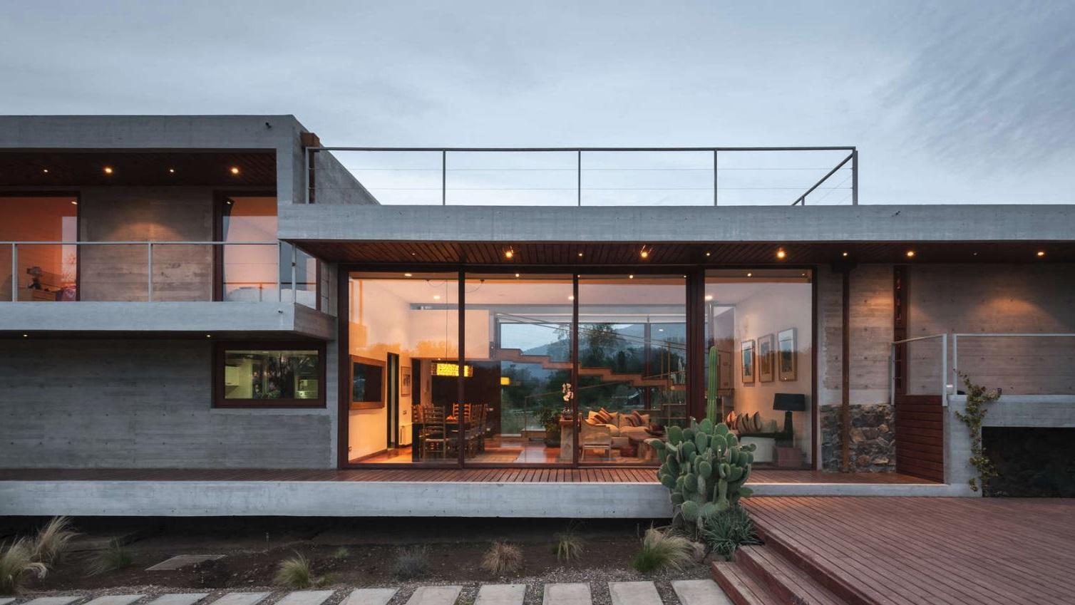 Balcones for Fachadas para terrazas de casas