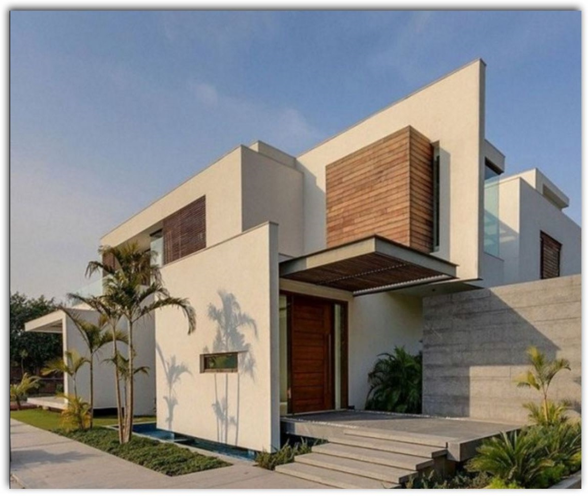 Pintar casa exterior related keywords suggestions for Modelos casas modernas