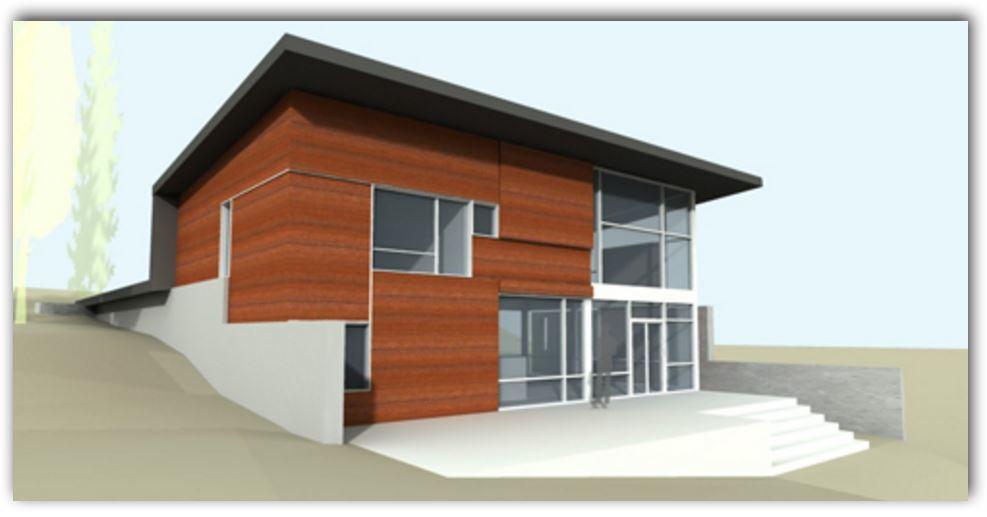 fachada-de-casa-moderna-con-revestimientos-de-madera