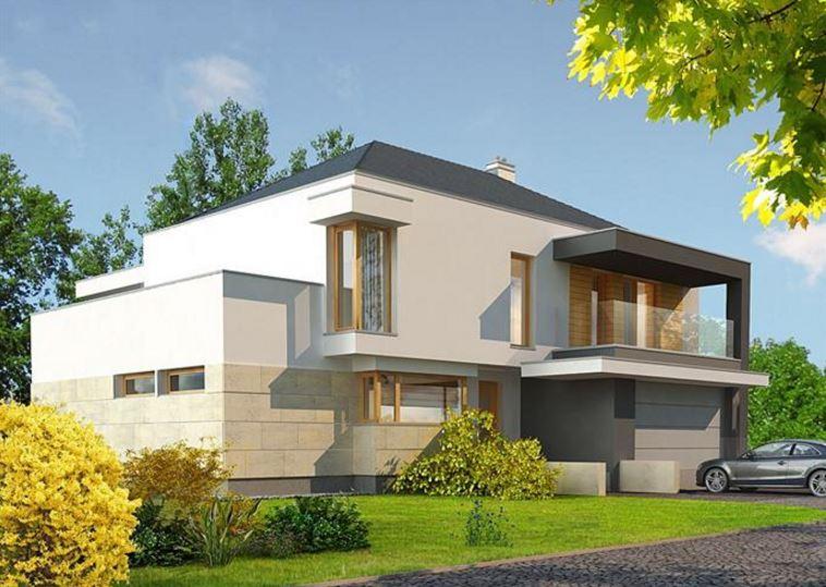 fachadas-y-planos-de-casas-actuales