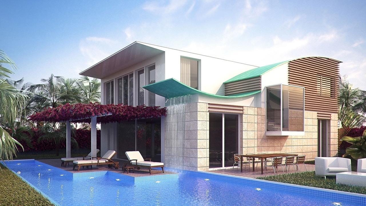 Ver fachadas de casas fachadas de casas estilos de for Fotos de disenos de piletas de natacion