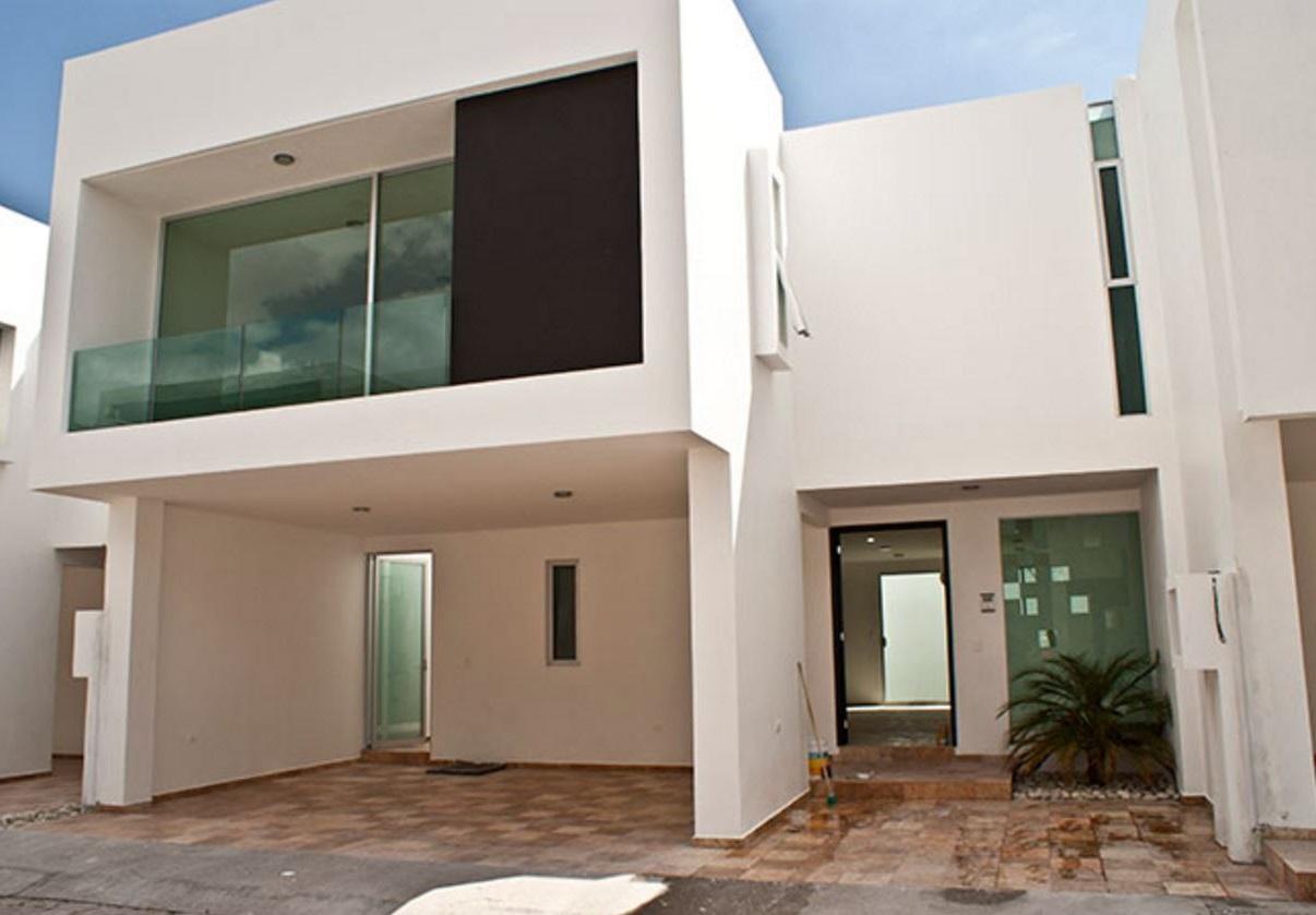 Frentes de casas minimalistas for Colores en casas minimalistas